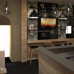 Studio di architettura Archis - Commerciale - Bistrot - 4