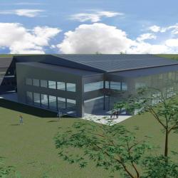 Studio di architettura Archis - Commerciale - Centro sportivo con piscina - 2