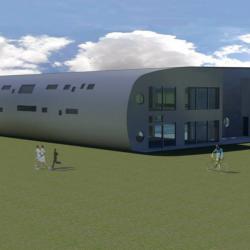Studio di architettura Archis - Commerciale - Centro sportivo con piscina - 3