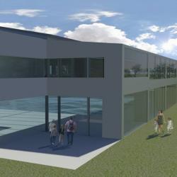 Studio di architettura Archis - Commerciale - Centro sportivo con piscina - 5