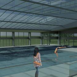 Studio di architettura Archis - Commerciale - Centro sportivo con piscina - 7